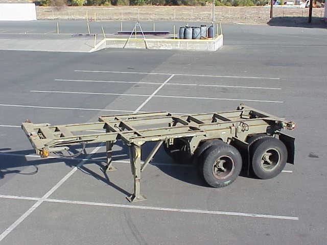 20 foot Cargo Container Chassis
