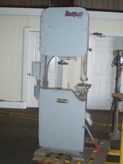 Northfield 20 vertical bandsaw