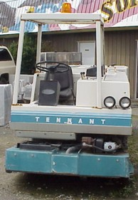 Tennant 550 Sweeper